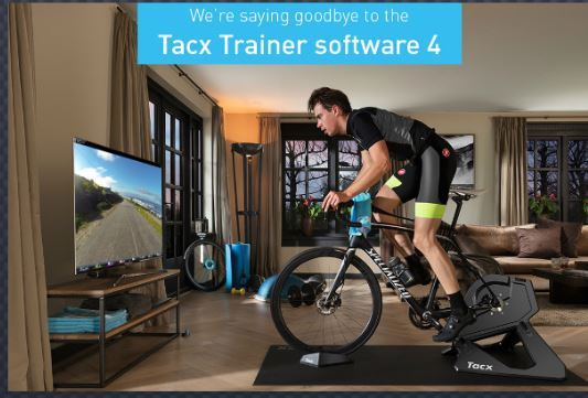 Tacx software support TTS4 stopped